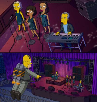 Steely Dan - en Los Simpson